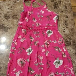 Old Navy Girls Pink Dress with flowers